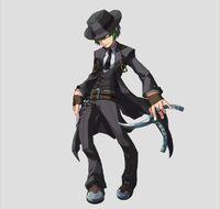 Hazama (Lost Saga, Artwork, Male)