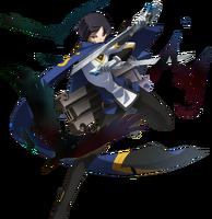 Hibiki Kohaku (Centralfiction, story mode artwork, pre battle)