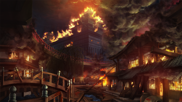File:Bang Shishigami (Calamity Trigger, Story Mode Illustration, 1).png