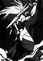 BlazBlue Phase 0 (Black and white illustration, 6)