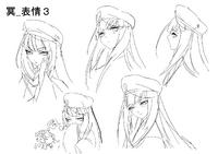 Mei Amanohokosaka (Concept Artwork, 13)