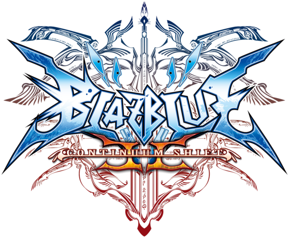 File:BlazBlue Continuum Shift II (Logo).png