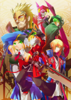 BlazBlue Chronophantasma Story Maniacs Material Collection II (Illustration, 4)