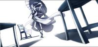 Amane Nishiki (Centralfiction, arcade mode illustration, 4, type A)