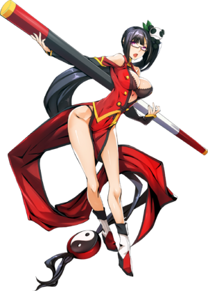 Litchi Faye-Ling (Centralfiction, Character Select Artwork)