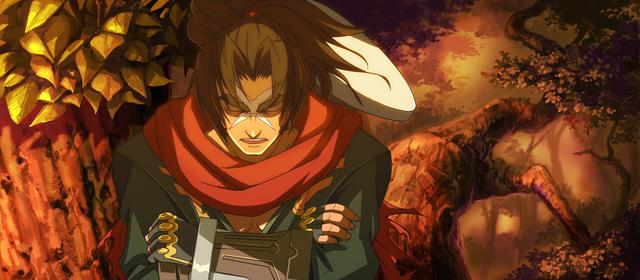 File:Bang Shishigami (Calamity Trigger, Arcade Mode Illustration, 1, Type B).png