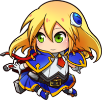 Noel Vermillion (Chibi, Chronophantasma, 1)