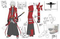 Ragna the Bloodedge (Concept Artwork, 3)