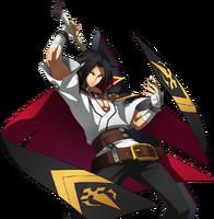 Kagura Mutsuki (Story Mode Artwork, Pre Battle)