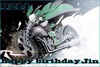 Jin Kisaragi (Birthday Illustration, 2012, 07)