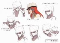 Tsubaki Yayoi (Concept Artwork, 4)