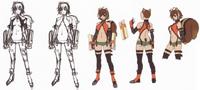 Makoto Nanaya (Concept Artwork, 4)