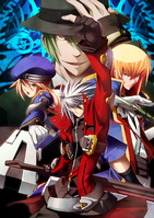 BlazBlue Chronophantasma Story Maniacs Material Collection II (Illustration, 16)