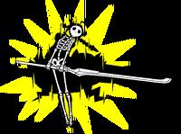 Es (Sprite, electrocuted)