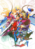 BlazBlue Chronophantasma Story Maniacs Material Collection II (Illustration, 6)
