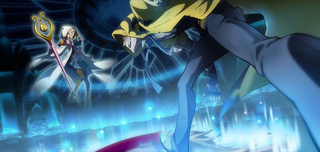 File:Yūki Terumi (Chronophantasma, Arcade Mode Illustration, 1).png
