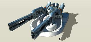 Wip dual railgun turret 2 by freiheitskampfer-d53c30m