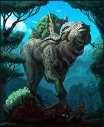 Rainforest god final by davesrightmind-d5rivm4