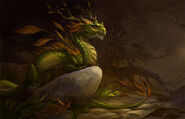 Autumn dragon by sandara-d4vz4mp