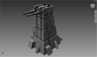 Xx 10 turbolaser tower by exoticctofu-d5jd9zs