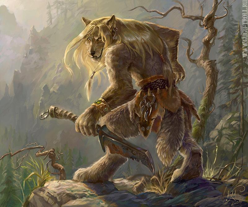 Werewolf by gugu troll