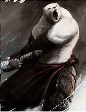 Anthro polar bear 2