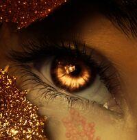 Amber eyed monster