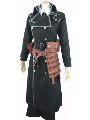 Ao no Exorcist Yukio Okumura Battle Cosplay Costume-1
