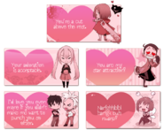 Oc valentine cards by endling-d75z2cu