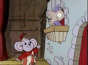 Blinky Bill saves Granny Glasses Balcony scene