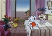Blinky Bill´s holiday Blinky´s gang in Miss Pym´s room