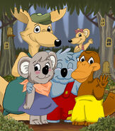 Blinky Bill´s gang picture