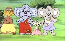 Blinky Bill and Mystery Pollution spots