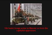 Beg Soviet intervention action 1