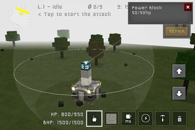 Block Fortress Unmod Power Grid