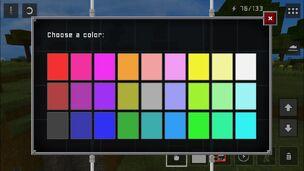Painting Colour Palette