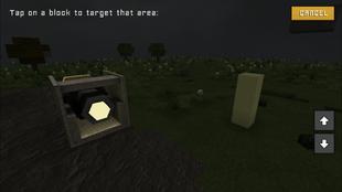 Spotlight Block To Target Pale Yellow Blocks