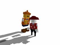 Pablo and Mr Lol Blockland