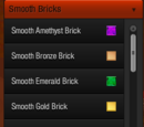 Smooth Blocks