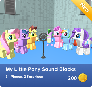 My Little Pony - Sound Blocks