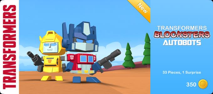 Transformers Blocksters - Autobots