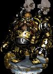 Steamdozer Figure