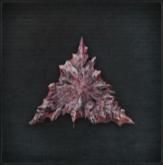 Nourishing blood gemstone Triangular