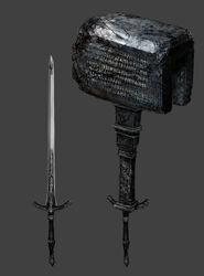 Hammer sword art