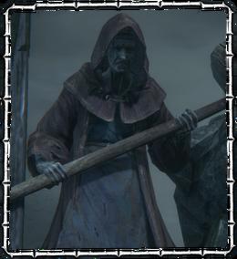 Bloodborne Enemy Hemwick Grave Woman