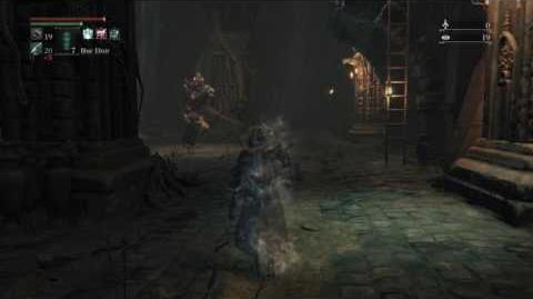 Bloodborne Beast Possessed Soul vs. Undead Giant (cannon variation) - ROUND 2