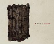 Wooden Shield concept art
