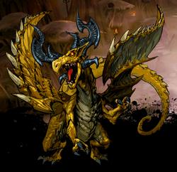 Fafnir, Fire Dragon Image