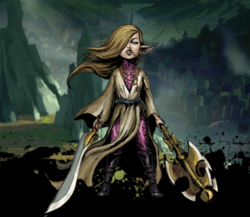 Ariat, Elven Oracle Image