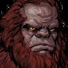 Ape Mountsman Face